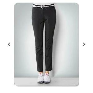 Adidas Womens Fall Weight Golf Pants Black Sz 6